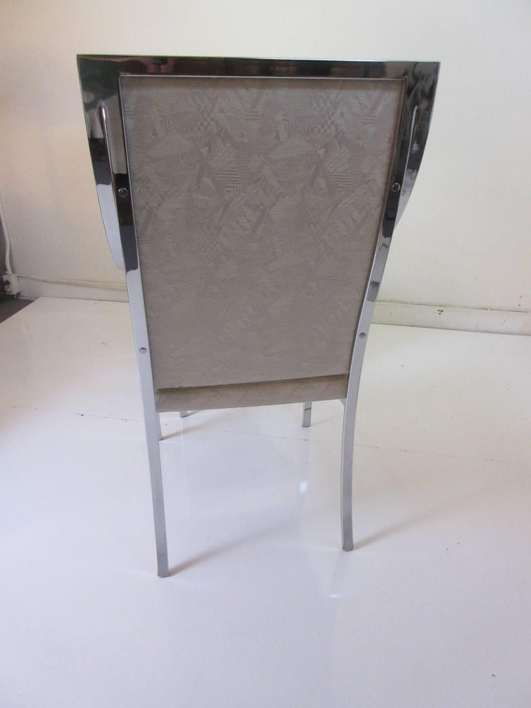 Milo Baughman for Thayer Coggin Six Dining Chairs 3