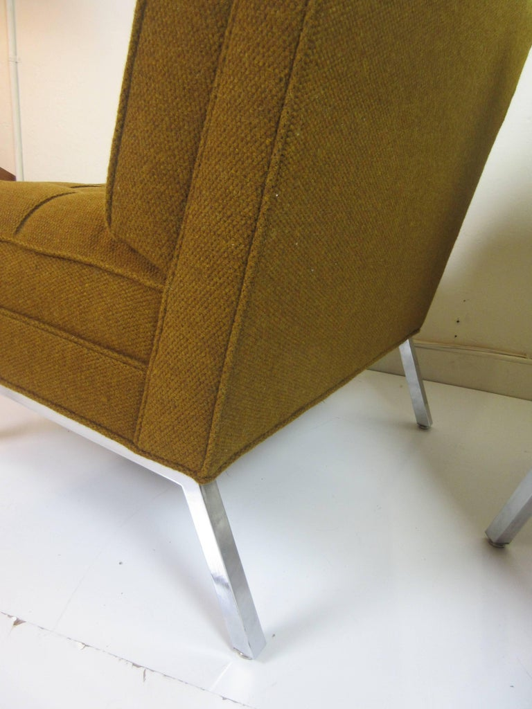 Pair of Slipper Chairs in the Manner of Florence Knoll 5
