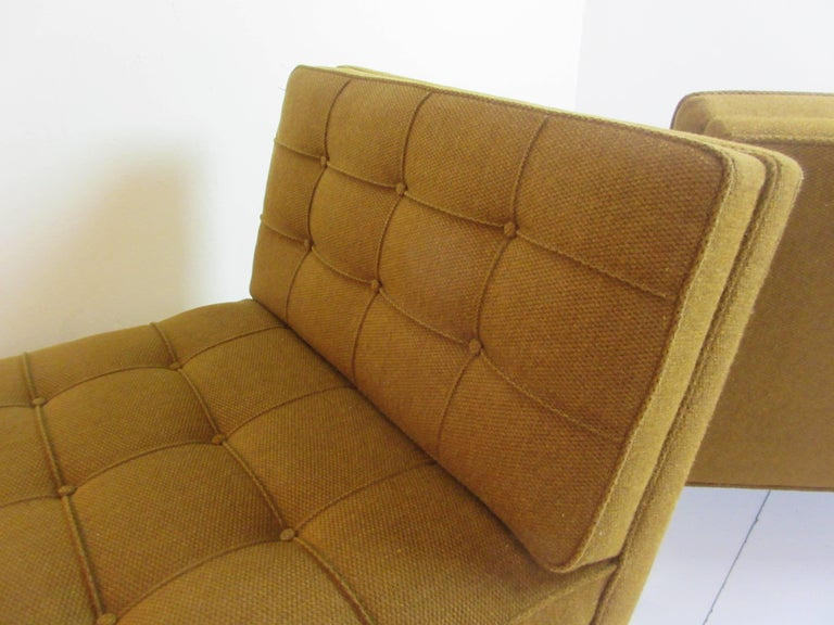 Pair of Slipper Chairs in the Manner of Florence Knoll 7