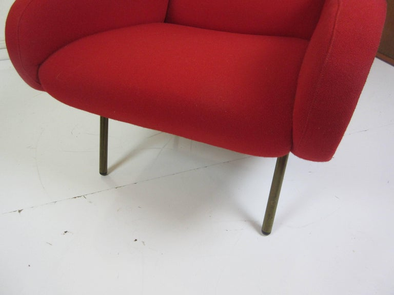 Brass Marco Zanuso for Arflex Petit Lady Chair For Sale