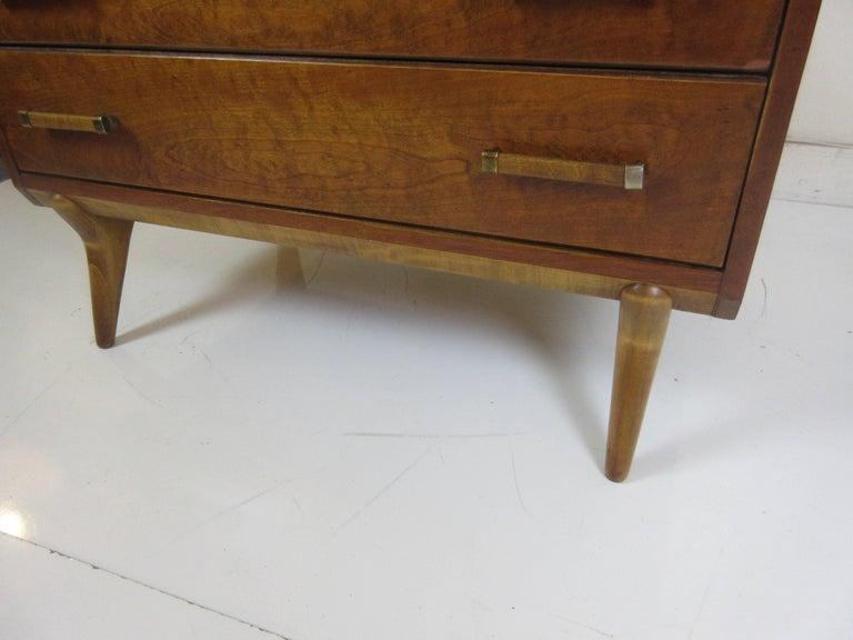 Renzo Rutili for Johnson Furniture Four-Drawer Dresser 4