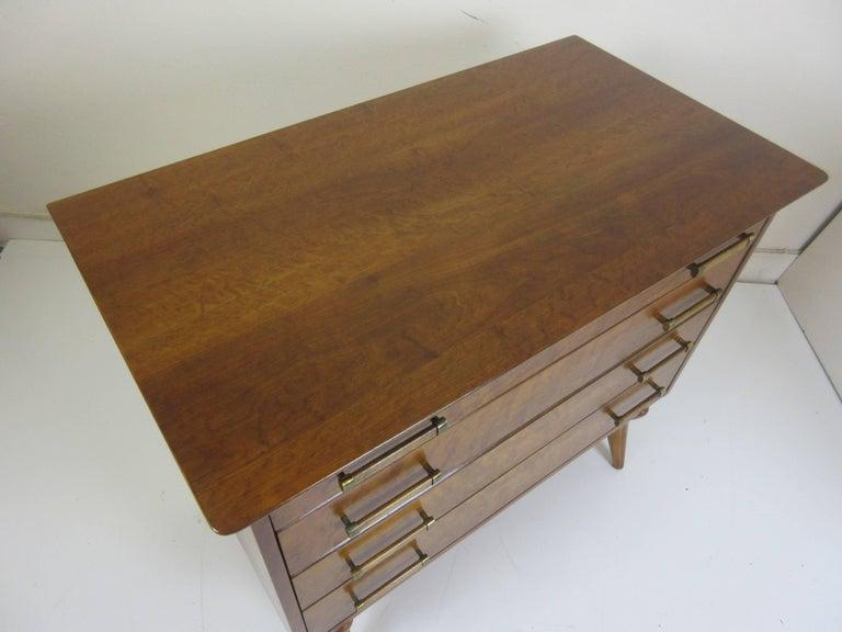 Renzo Rutili for Johnson Furniture Four-Drawer Dresser 7