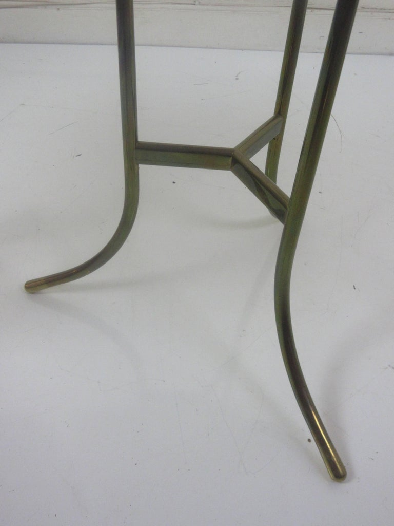 Cedric Hartman Marble and Brass End Tables 8