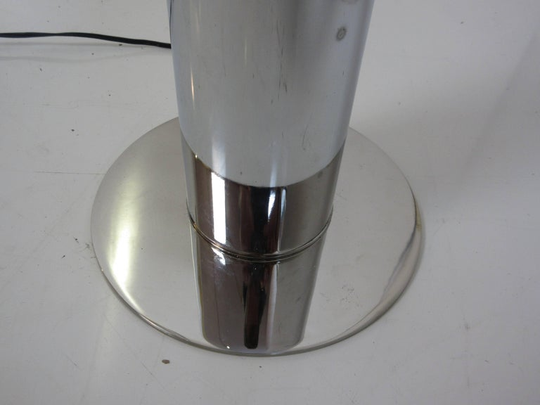 Mid-Century Modern Robert Sonneman Floor Lamp For Sale