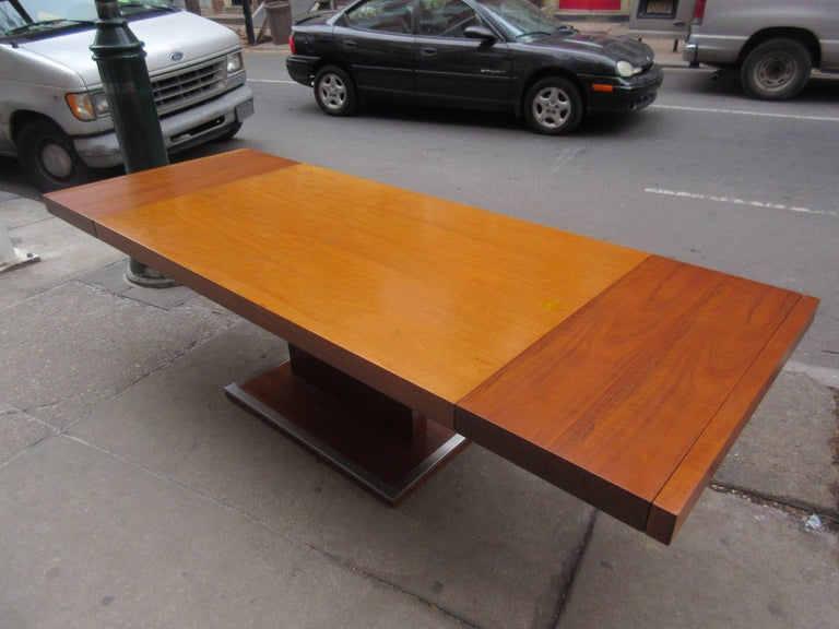 Mid-20th Century Founders Dining Table by Milo Baughman For Sale