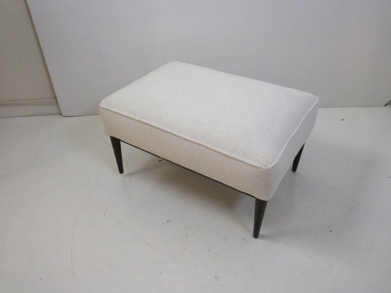 Walnut Paul McCobb for Directional Ottoman For Sale