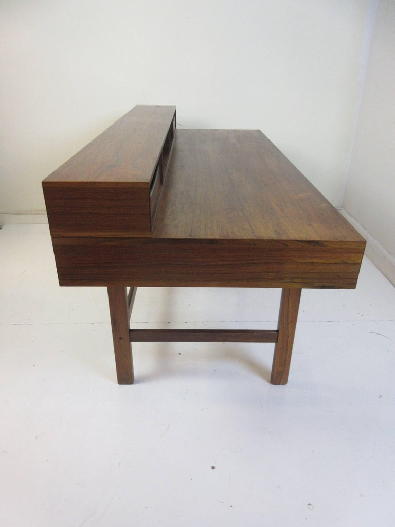 Jens Quistgaard for Lovig in Rosewood Flip Desk For Sale 3