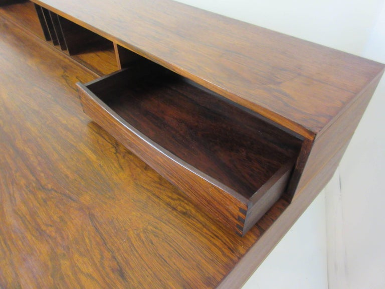Danish Jens Quistgaard for Lovig in Rosewood Flip Desk For Sale