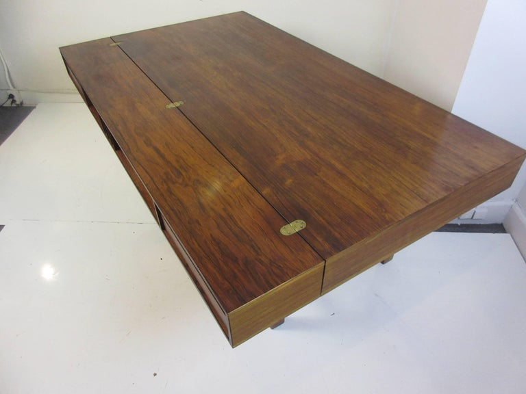 Jens Quistgaard for Lovig in Rosewood Flip Desk For Sale 2