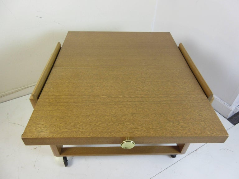 Brown and Saltman John Keal Rolling Bar or Tea Cart 6