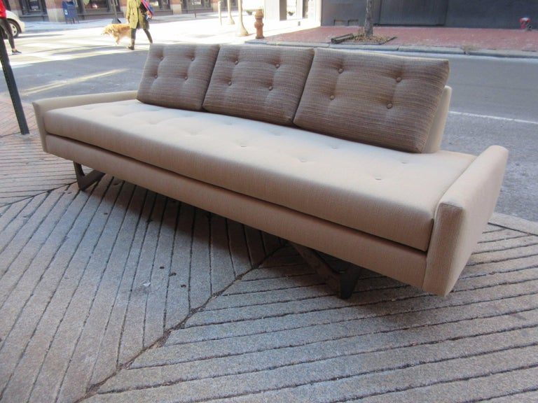 Mid-20th Century Adrian Pearsall Gondola Sofa for Craft Associates For Sale