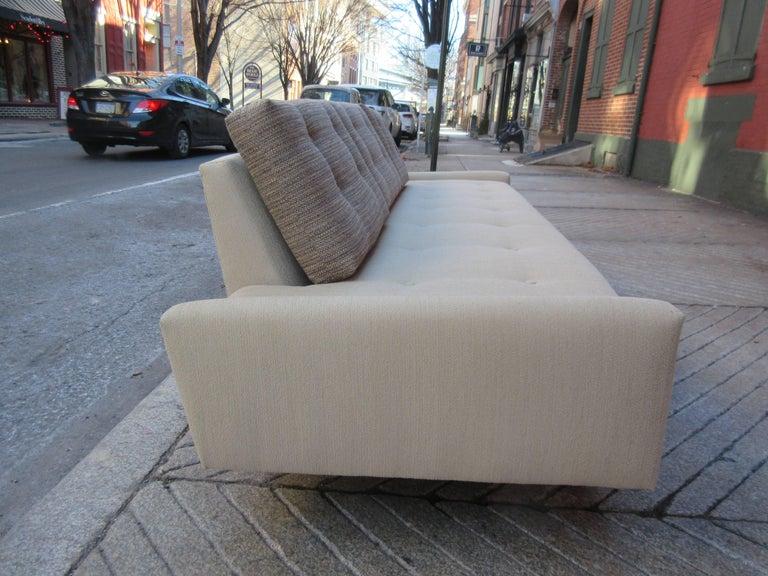 Fabric Adrian Pearsall Gondola Sofa for Craft Associates For Sale