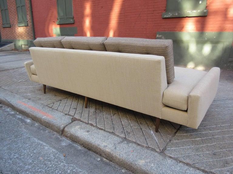 Adrian Pearsall Gondola Sofa for Craft Associates For Sale 1