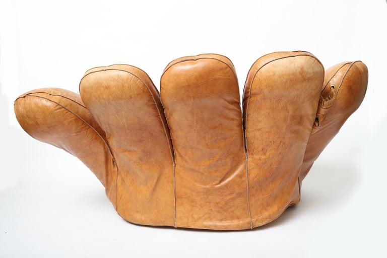 Italian Joe Glove Lounge Chair For Sale