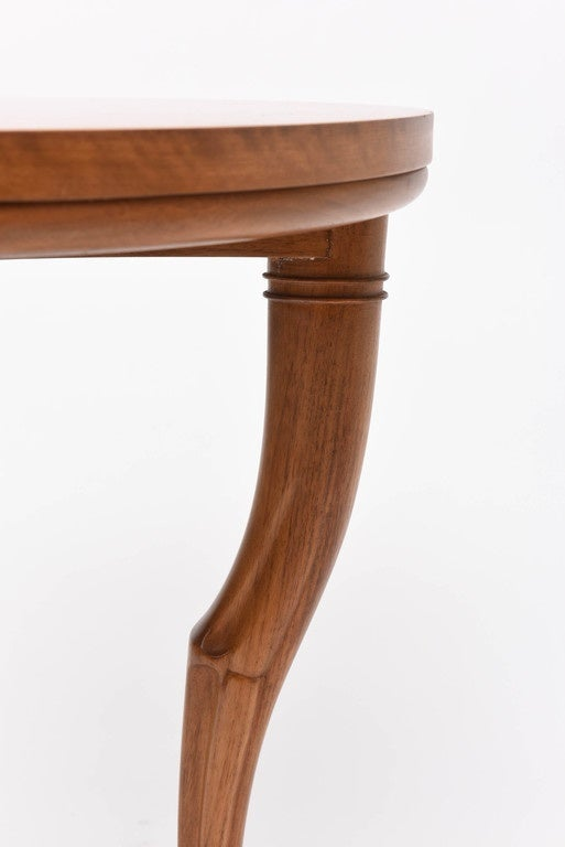Mid-20th Century T.H. Robsjohn-Gibbings Circular Trapeza Table For Sale