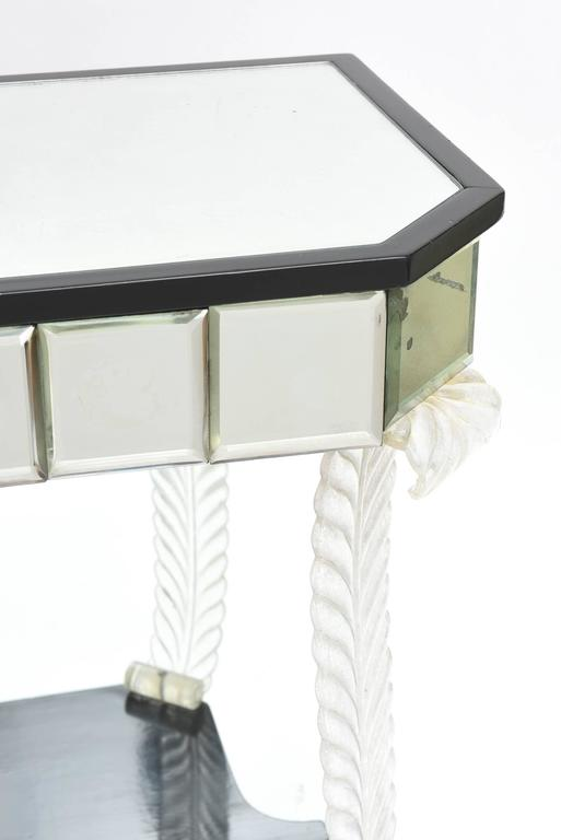 Mid-20th Century Grosfeld House 'Glassics' End Tables or Night Stands For Sale