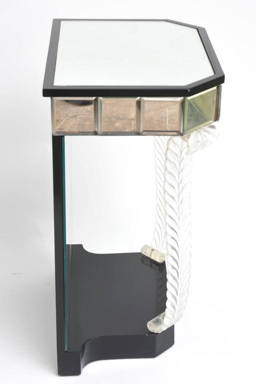 Lacquered Grosfeld House 'Glassics' End Tables or Night Stands For Sale