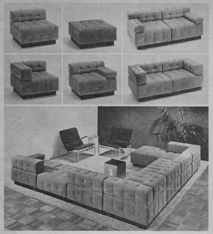 Harvey Probber Cubo Sectional Sofa 7
