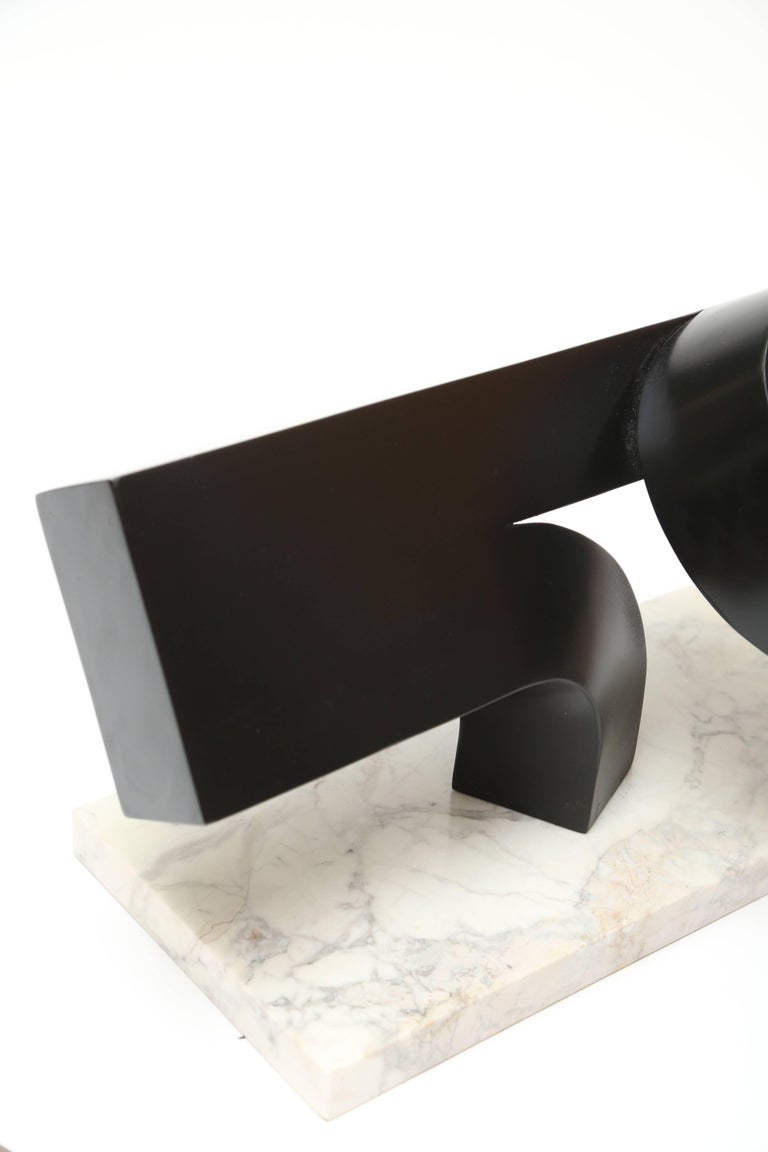 Metal Clement Meadmore Attributed Working Model For Sale