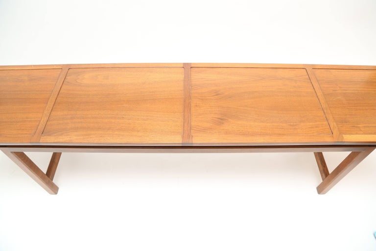 Paul Laszlo attributed low console. Elegant form and design.