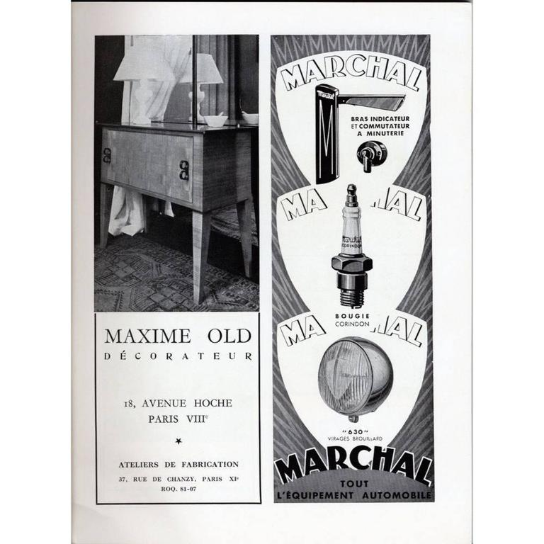 Mid-20th Century Maxime Old Small Cabinet For Sale