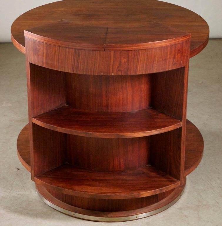 Art Deco Etienne Kohlmann Modernist Side Table For Sale