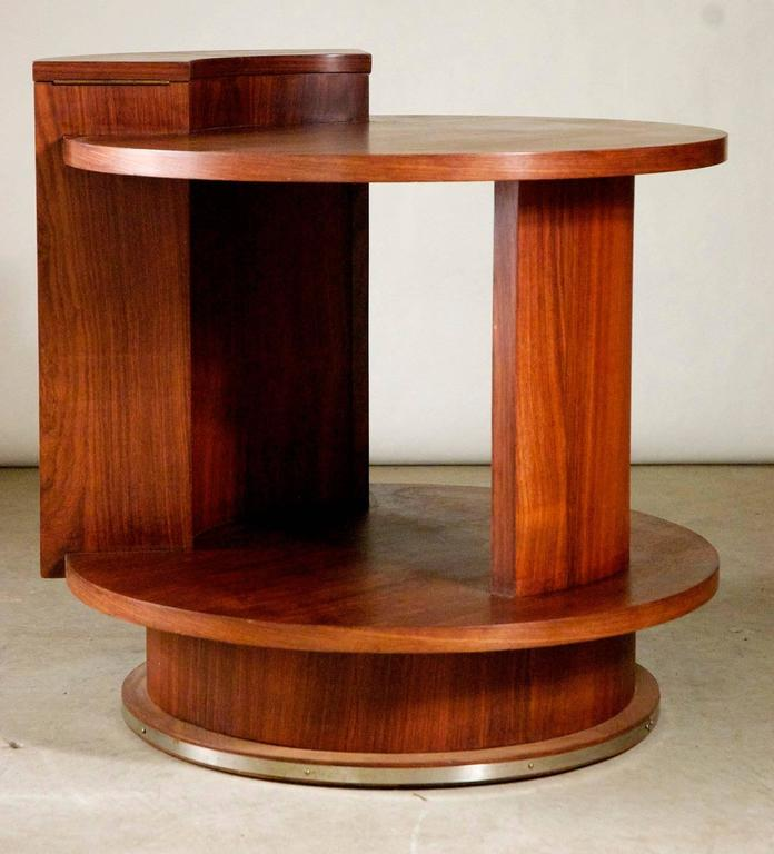 Etienne Kohlmann Modernist Side Table In Excellent Condition For Sale In Philadelphia, PA