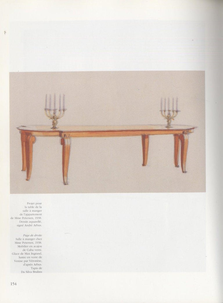 Andre Arbus French Art Deco Dining Table For Sale At 1stdibs