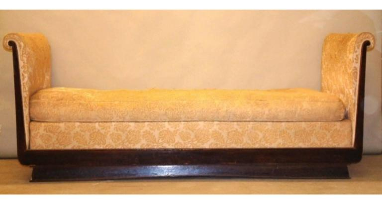 French Dominique Meridian, Daybed or Sofa For Sale