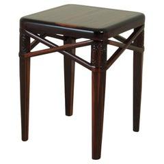 Ruhlmann Small Side Table in Macassar Ebony