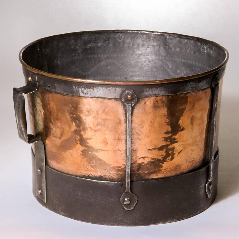 French Copper Cauldron At 1stdibs