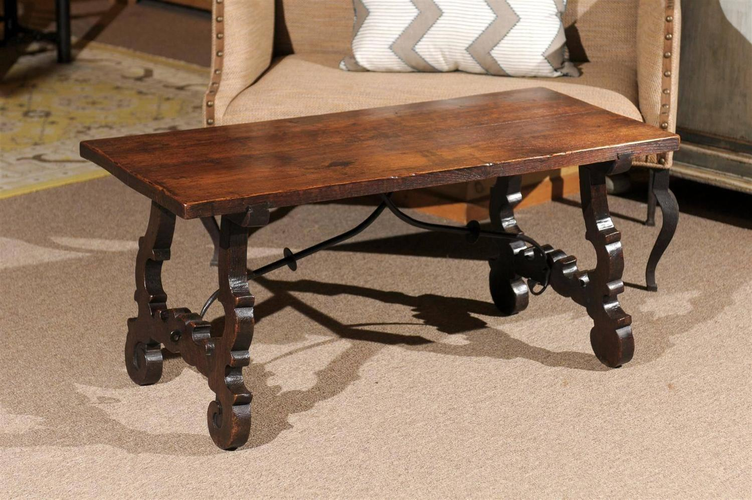 Early 20th Century Spanish Coffee Table At 1stdibs