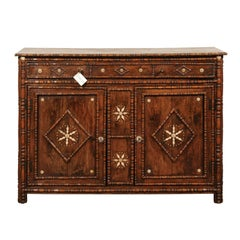 19th Century Folk Art Buffet from the French Alps