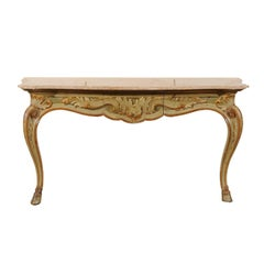 Louis XV Style Painted Console, circa 1900
