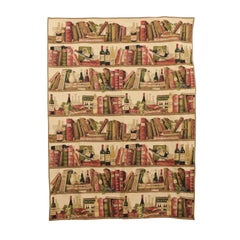 Contemporary Tapestry with Wine Theme from Bruges Belgium