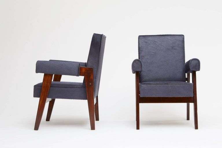 Pierre Jeanneret, Pair of Advocate and Press Chairs 2