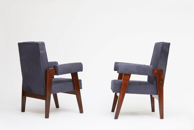 Pierre Jeanneret, Pair of Advocate and Press Chairs 4