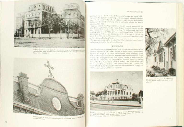 American New Orleans Architecture Vol. VII Jefferson City, First Edition For Sale