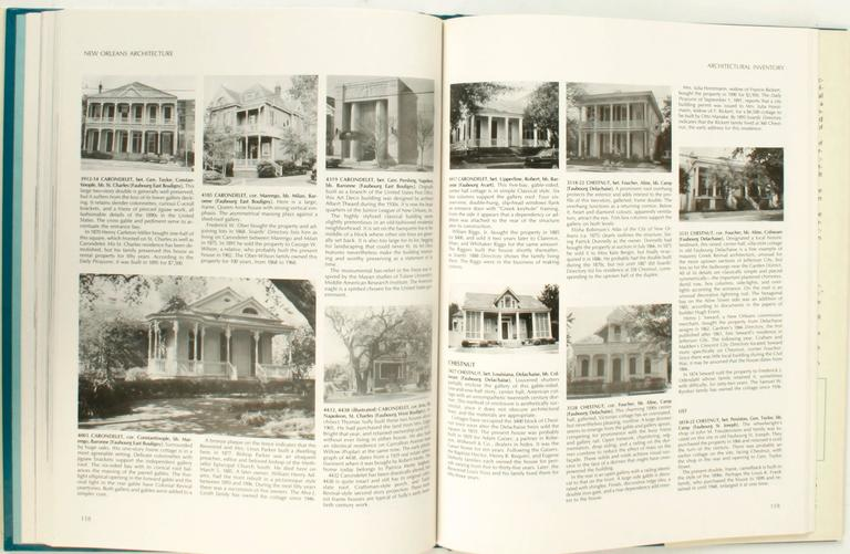 New Orleans Architecture Vol. VII Jefferson City, First Edition For Sale 1