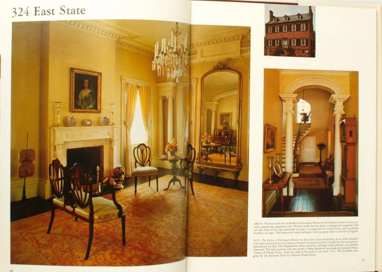 At Home in Savannah, Great Interiors. Boca Raton: Gold Coast Publishing. First edition hardcover with dust jacket, 1978. 87 pp. A photographic overview of 21 houses and their interiors in Savannah Georgia with an introduction of the history of the