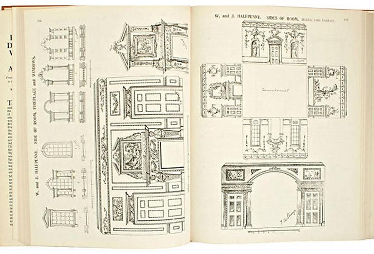Paper English Furniture Decoration and Allied Arts by Thomas Strange, 1st Ed For Sale