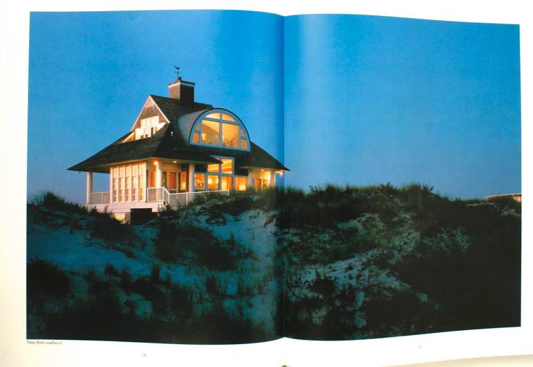 The American Houses of Robert A. M. Stern by Clive Aslet. Rizzoli, New York, 1991. The book filled with superb photographs of architecture, elevations, floor plans, early houses, houses by the sea, country and suburban home, mountain homes, town