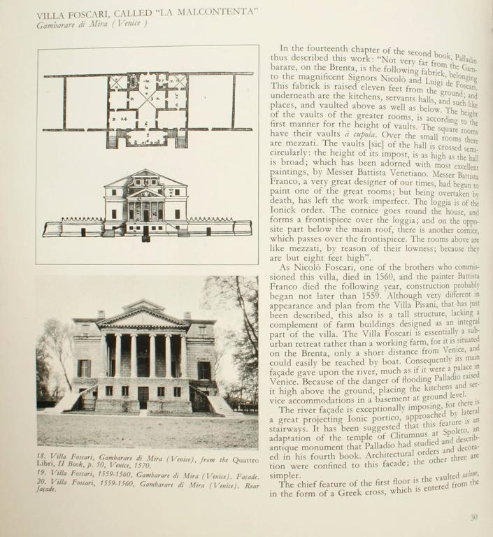 Palladio in America, 1st Ed In Excellent Condition For Sale In Kinderhook, NY