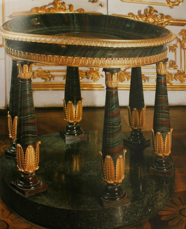 American Russian Furniture: The Golden Age 1780-1840 1st Ed by Antoine Chenevière For Sale