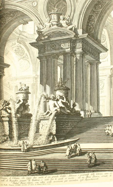 American Piranesi, Early Architectural Fantasies by Andrew Robinson For Sale