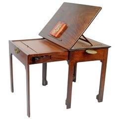 Early George III Mahogany Reading/Writing Table, c1765
