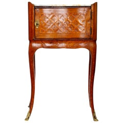 Louis XV Parquetry Side Table, c1770