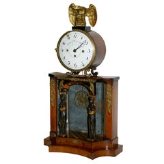 Early 19th C Biedermeier Clock