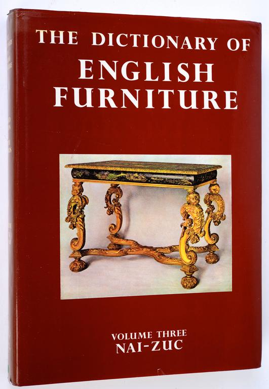 Dictionary of English Furniture Volume I, II and III by ...