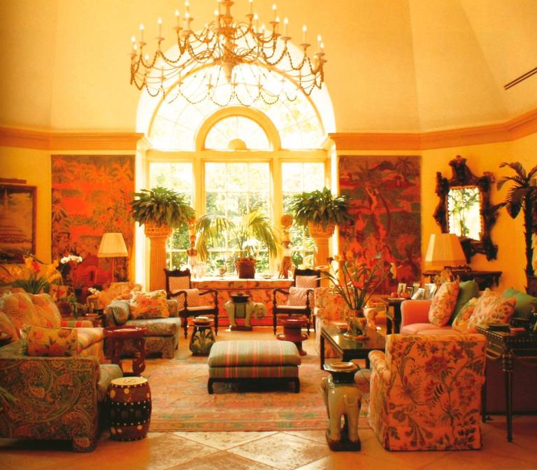 Palm Beach Chic Circa 1990s: Private Palm Beach, Tropical Style, 1st Ed For Sale At 1stdibs